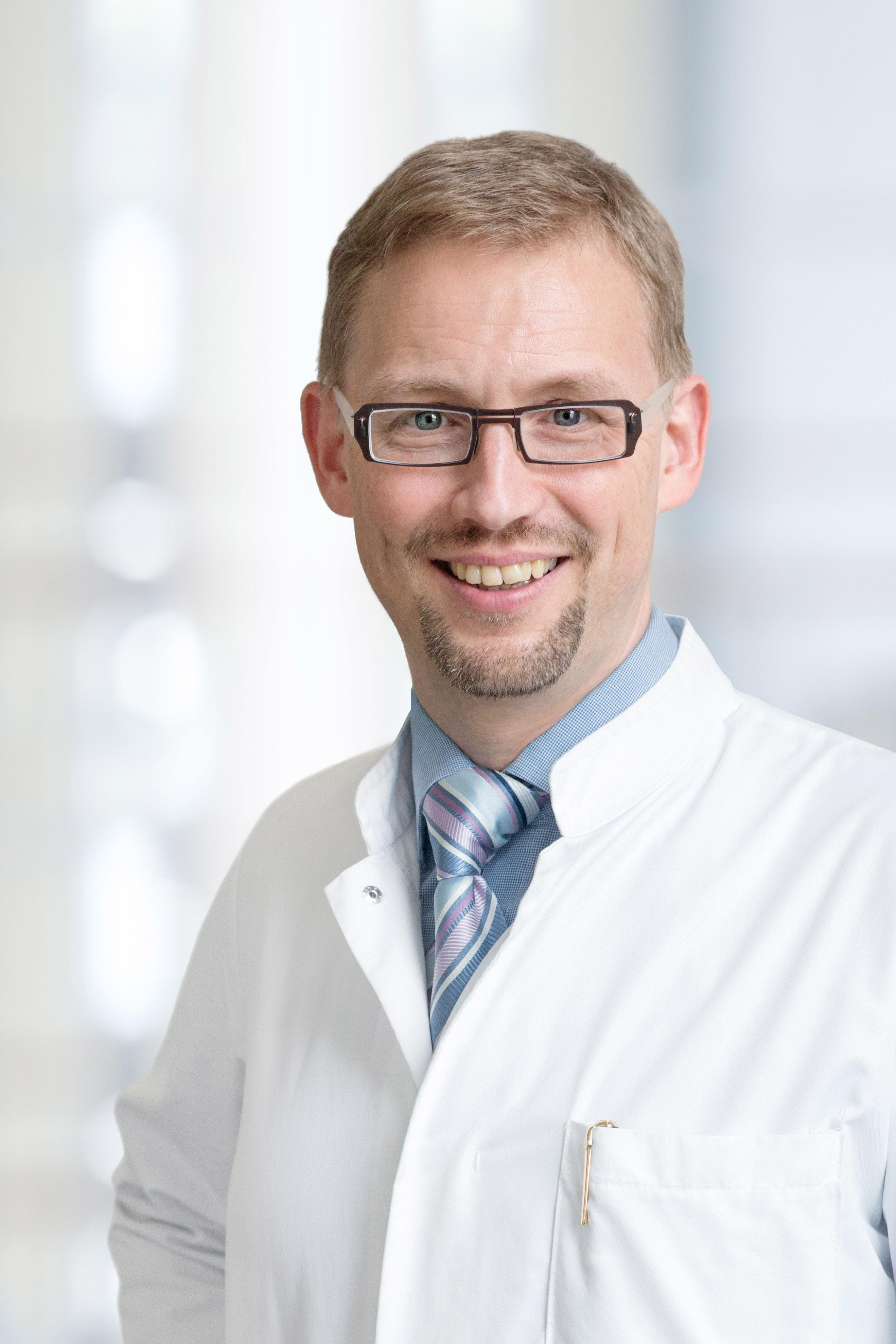 Prof. Michael Fuchs Portraifoto UKL, S. Straube